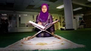 Quran-reading-girl